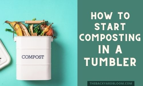 How to Start Composting In A Tumbler