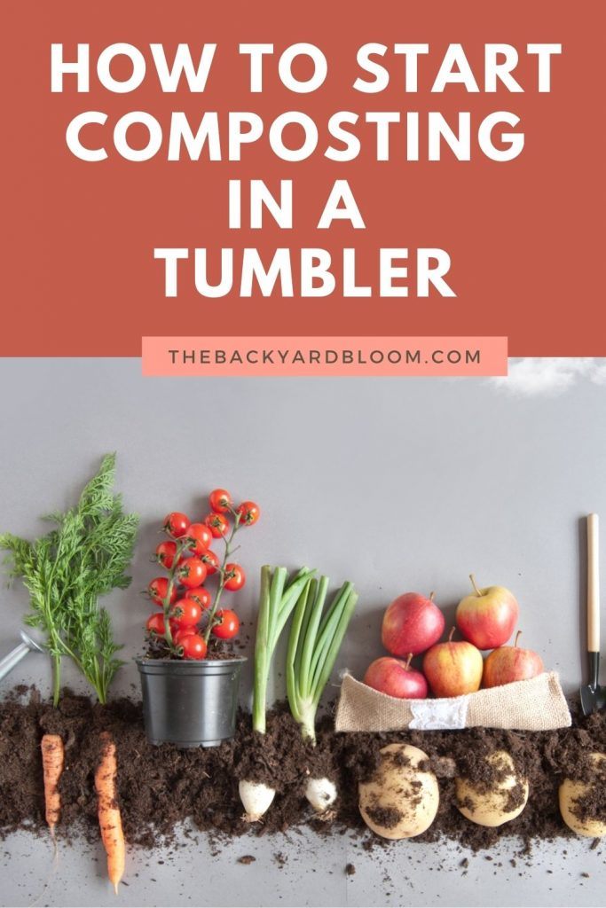 How to Start Composting In a Tumbler - Get compost faster